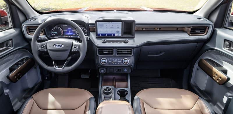 Ford Maverick Lariat Dash