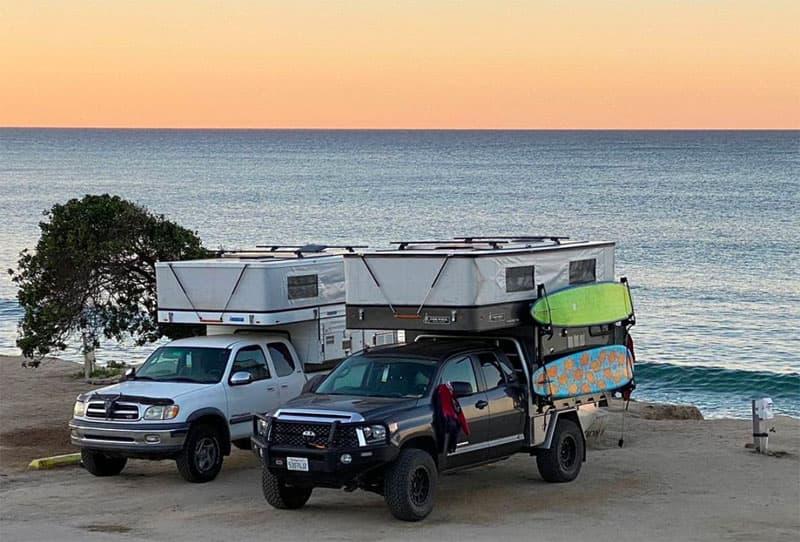 Four Wheel Camper Surfboard Rack