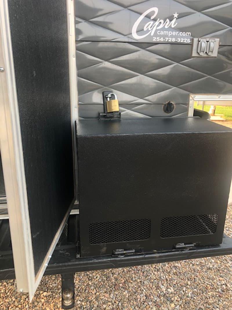 Generator Box Door Open