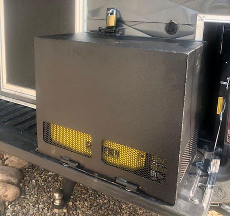 Generator Compartment Box On Tailgate