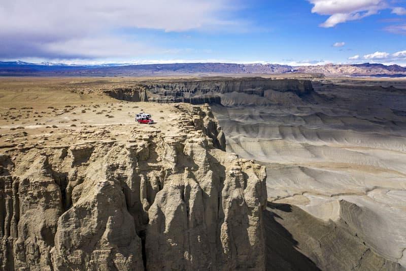 Infinite Explorers Cliff Utah Boondock Camping
