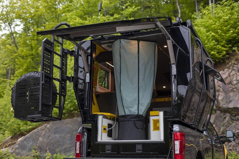 LOKI Basecamp Door And Hatch Open