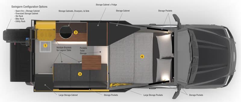 Loki Basecamp Falcon 8 Floor Plan