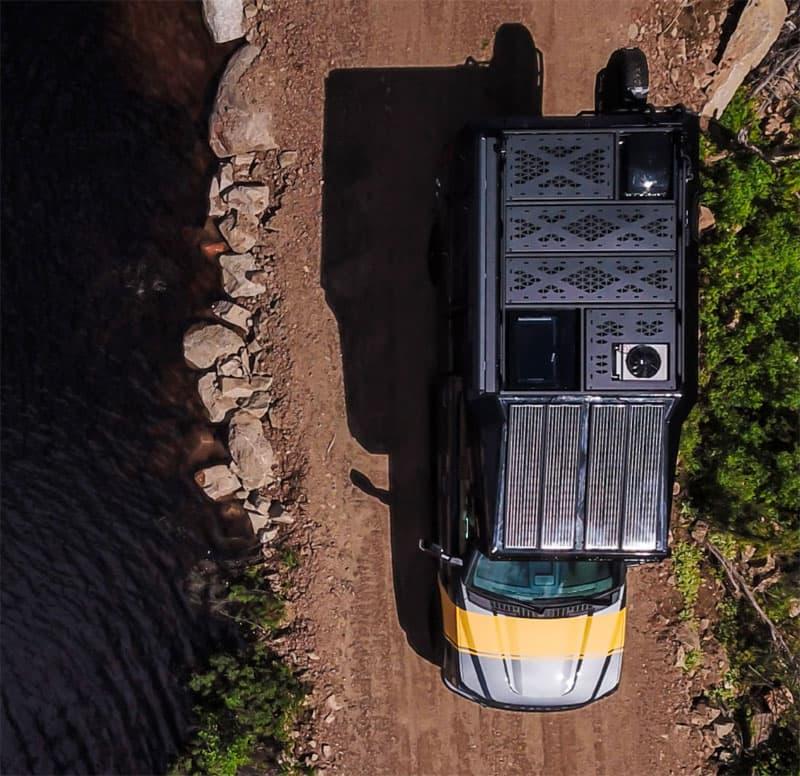 Loki Basecamp Falcon Exterior Drone Solar Panels