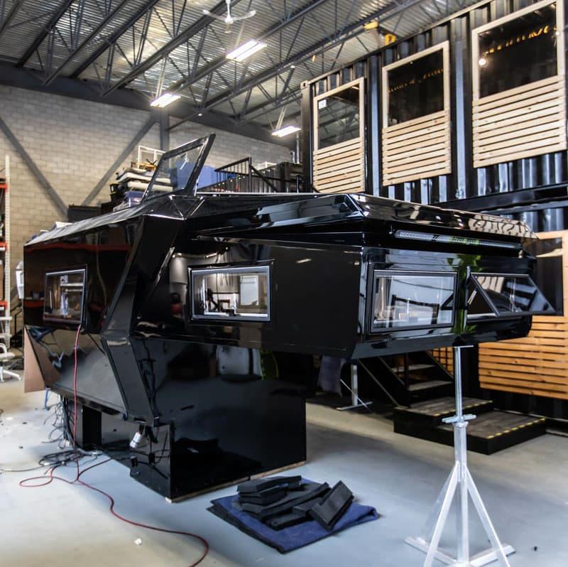 Loki Factory Basecamp Camper Being Built