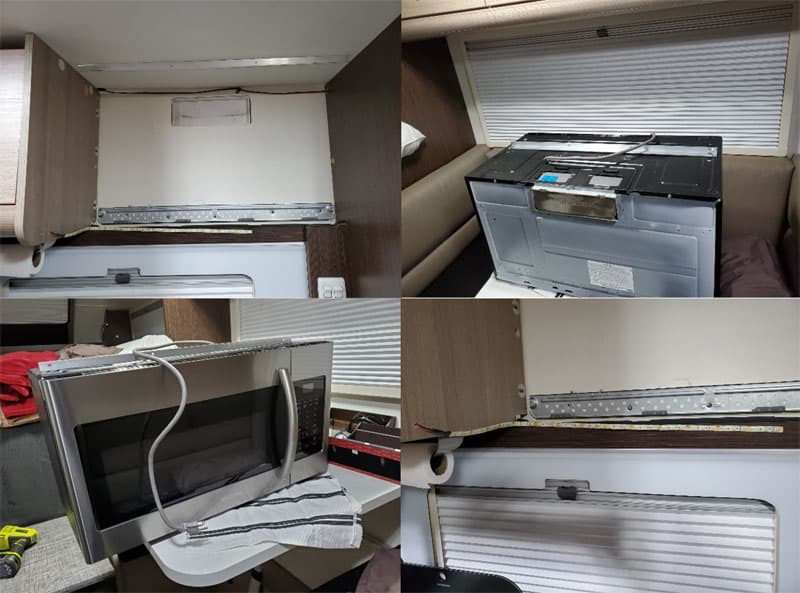 Microwave Replacement Cirrus 820 1