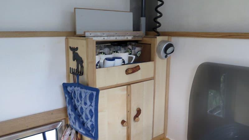 Inside Cabinetry Casco Camper Mobivak