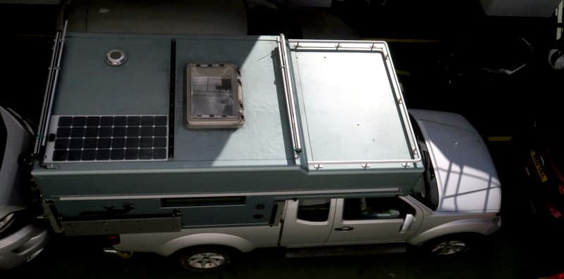Mobivak Roof With Solar