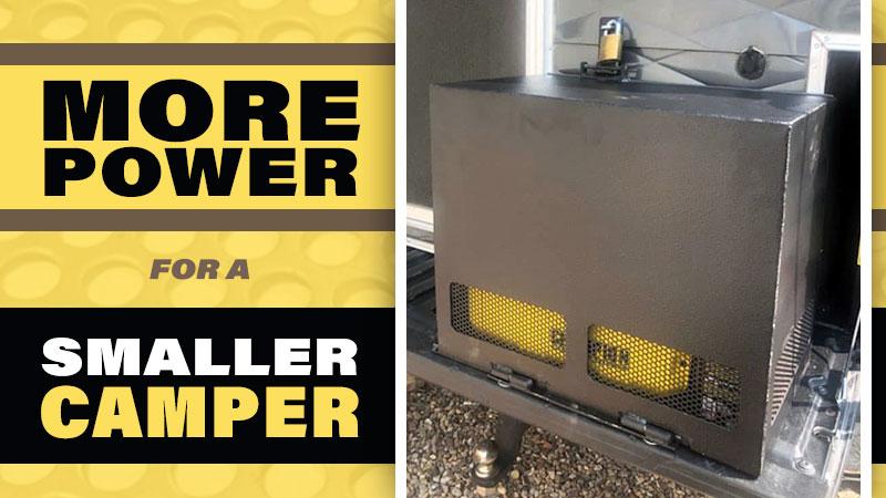 Generator Box For Truck Camper