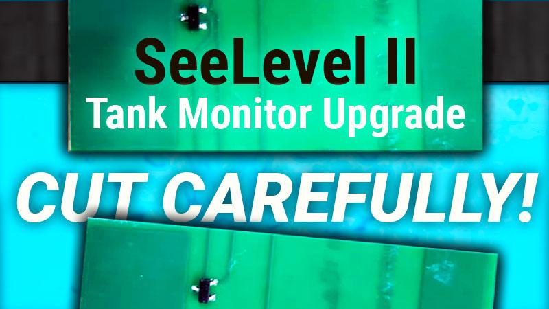 Installing SeeLevel II Monitors in a Truck Camper