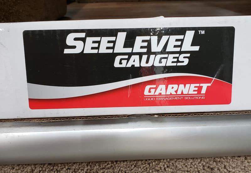 SeeLevel Gauge Garnet Box