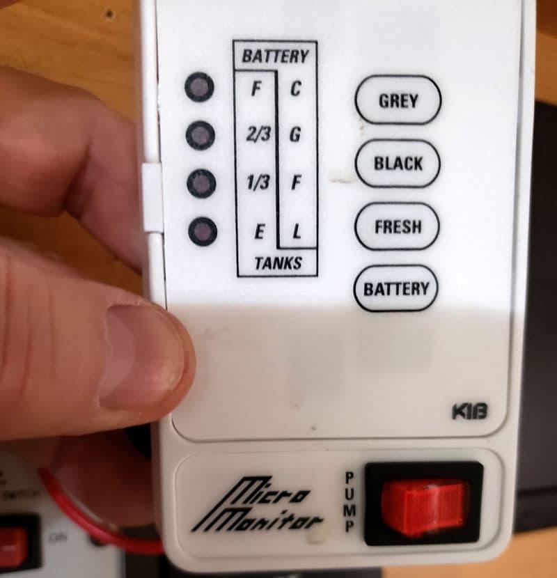 SeeLevel Gauge Install Old Monitor