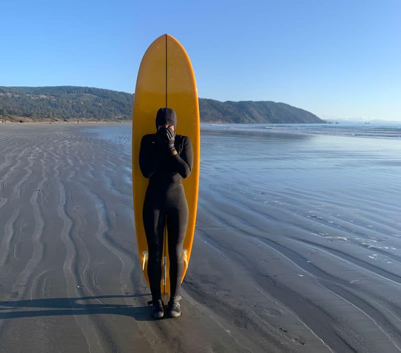 Surfing Jess