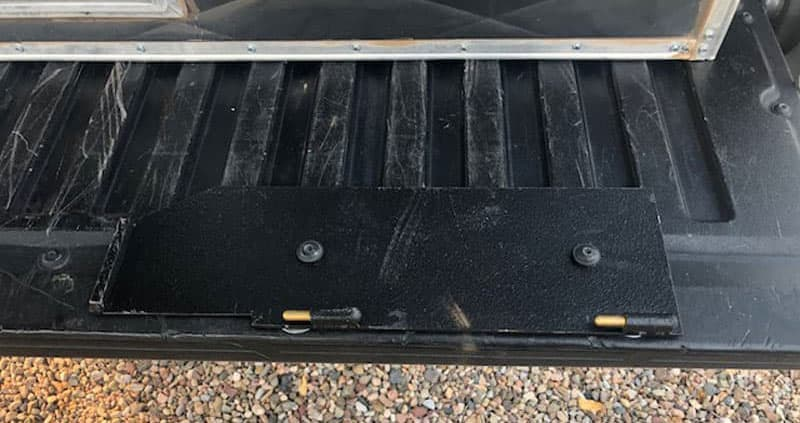 Tailgate Plate For Generator Box