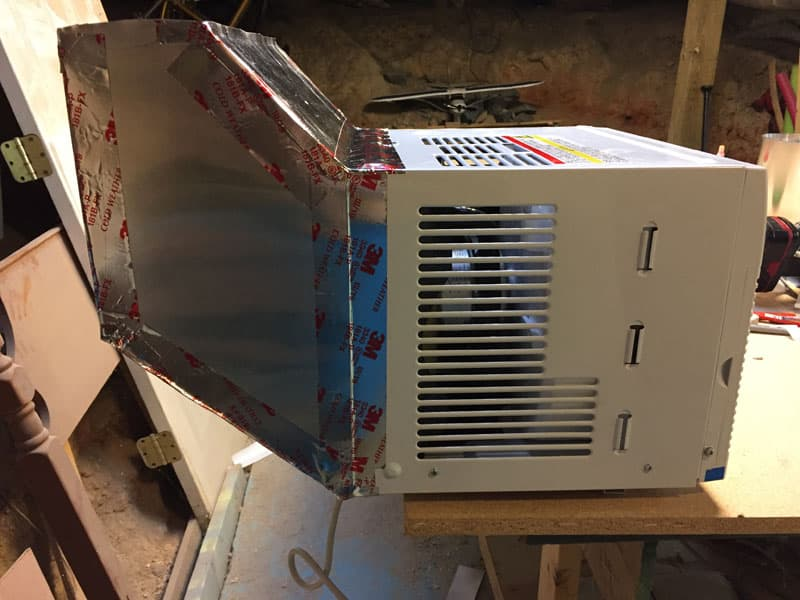 Wall Mounted Air Conditioner Duct 1
