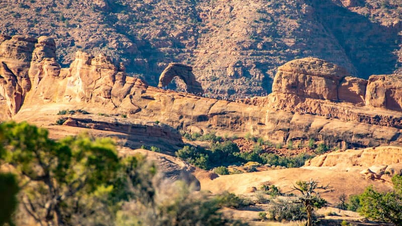 Arches National Park Boundary Camping