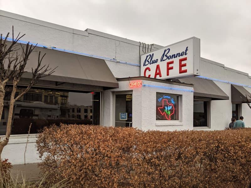 Blue Bonnet Cafe Marble Falls Texas