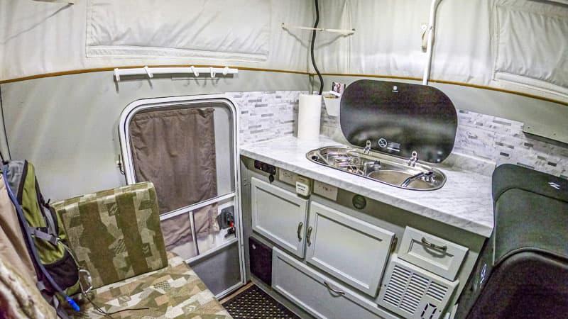 Camper For Jeep Gladiator Kitchen