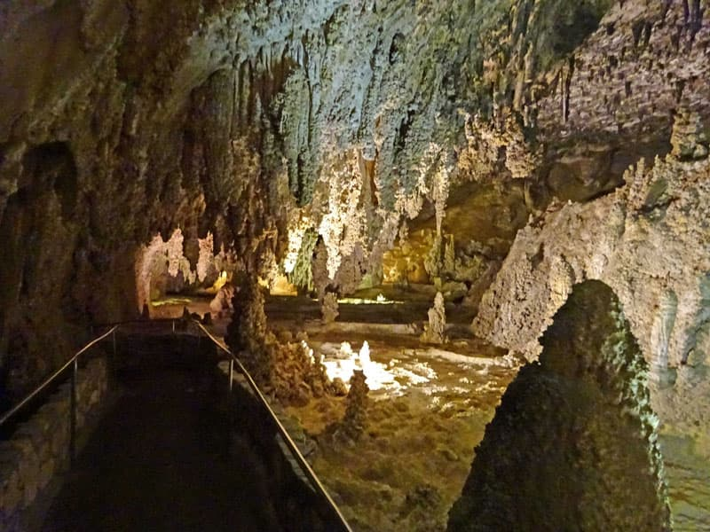 Carlsbad Caverns Empty Path