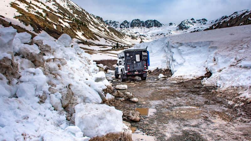 Cinnamon Pass Snow