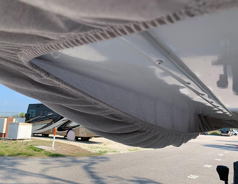 Covercraft Camper Cover Nose Sag