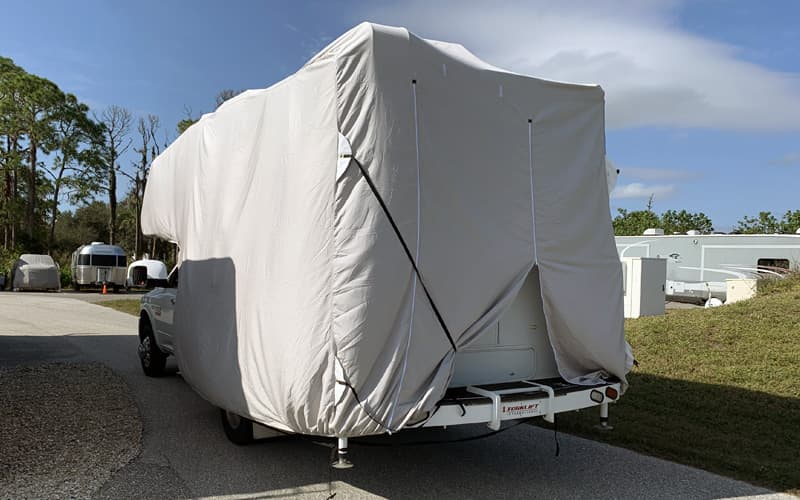 Covercraft RV Cover Goes Driving