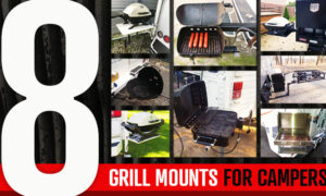 8 Gril Mounts for Truck Campers