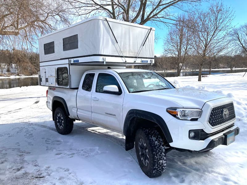 Four Wheel Camper Winter Camping