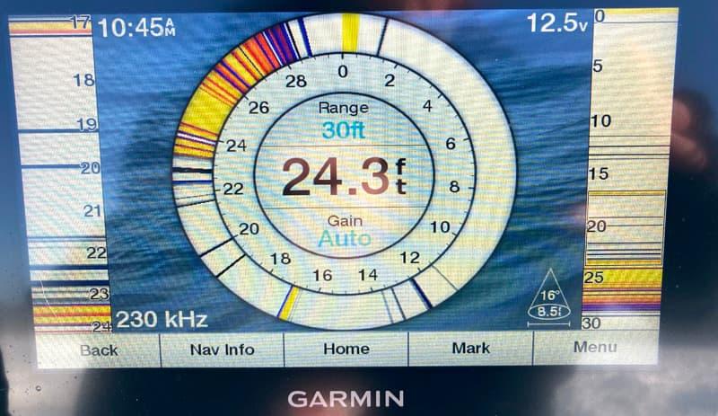 Garmin Depth Finder Fishing
