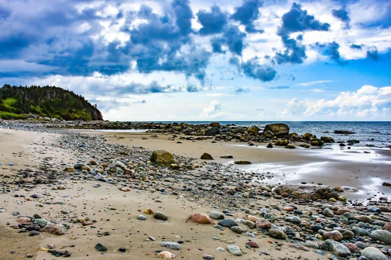 Gros Morne Newfoundland Beach Rocks