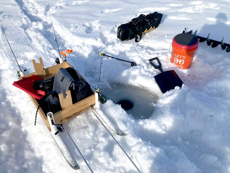Ice Fishing Tools And Equipment