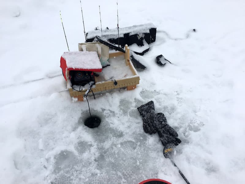 Iced Over Fishing Supplies