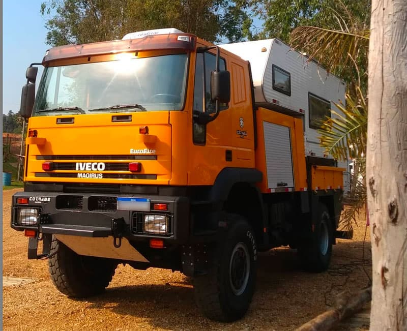 Iveco Fire And Rescue Camper