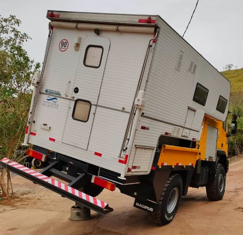 Iveco Truck Extreme Angle Testing