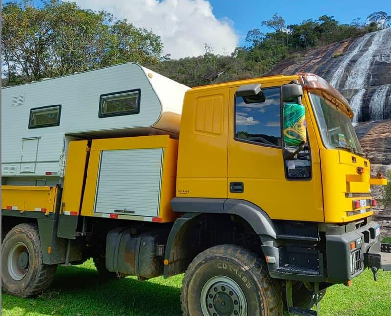 Iveco Truck Storage Compartment