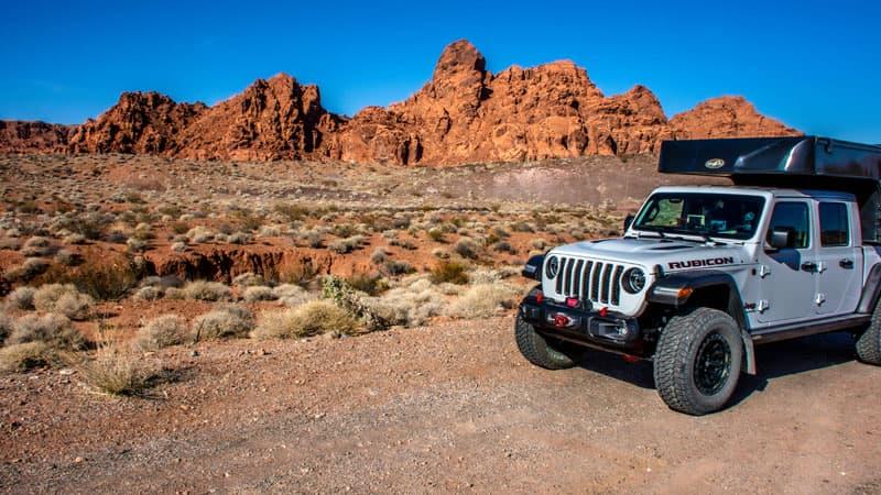 Jeep Camper In Utah