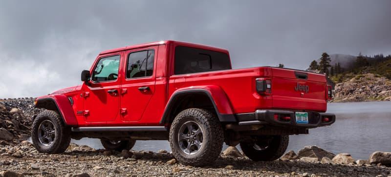 Jeep Gladiator No Camper Yet