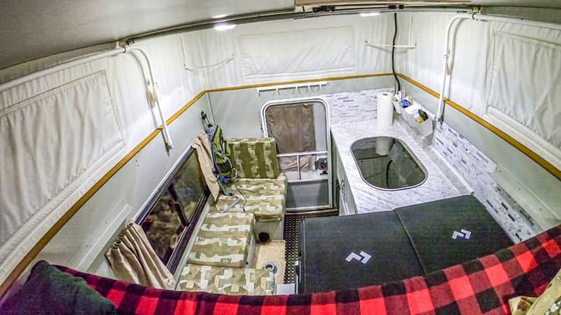 Phoenix Camper For Jeep Gladiator Inside
