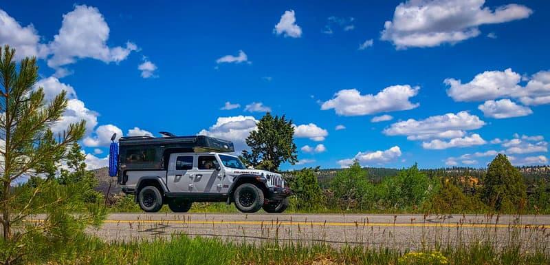 Phoenix Camper On Jeep Gladiator