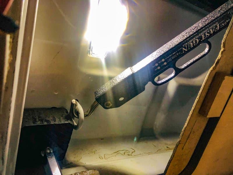 Torklift Fastguns For Internal Turnbuckles