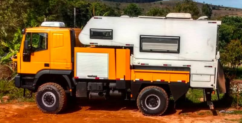 Height Iveco And Camper 12.5 Feet Tall