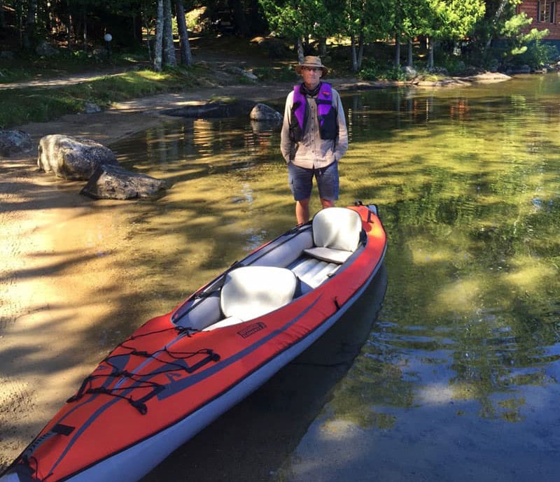 Inflatable Kayak Summer Fishing