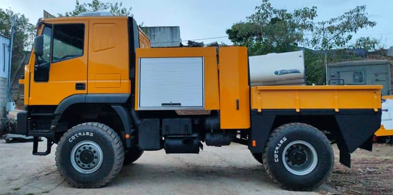Iveco Truck Getting Ready For Camper