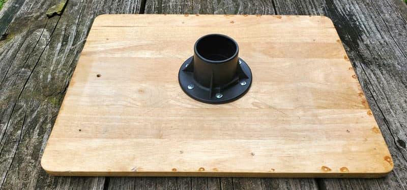 Tv Tray With The OEM Post Mount