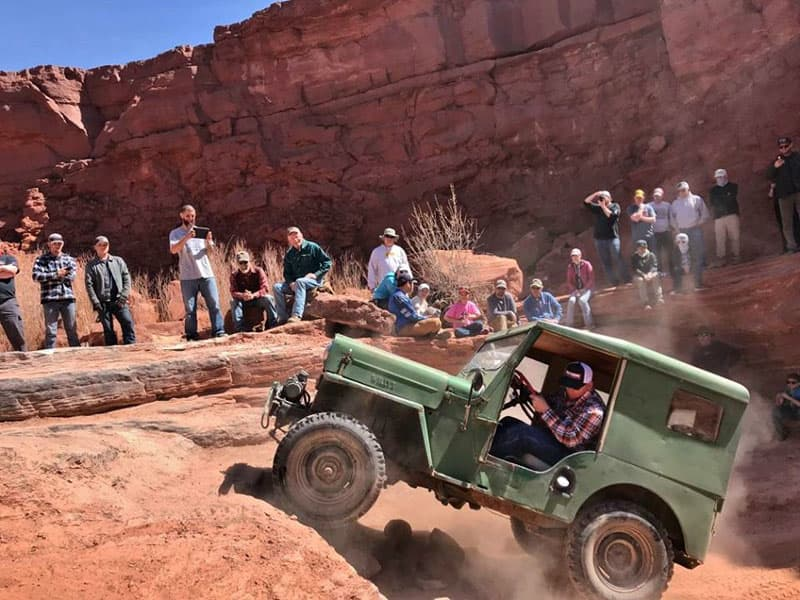 1953 CJ3B Willys On Flat Fender Friday During Easter Jeep Safari