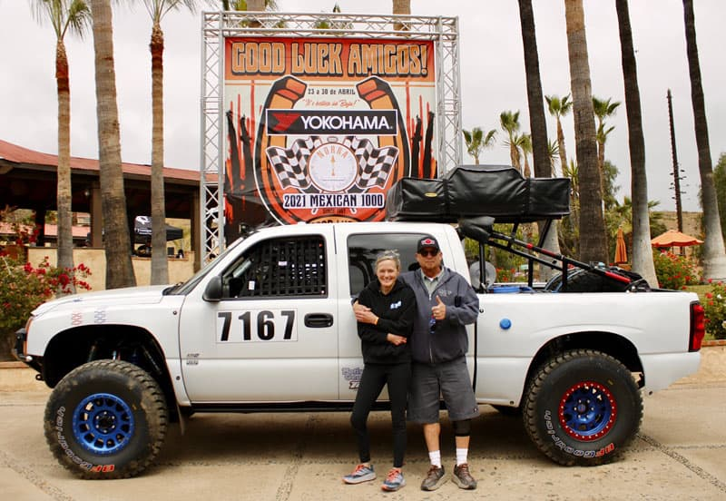 After Tech Inspection At 2021 NORRA Baja 1000