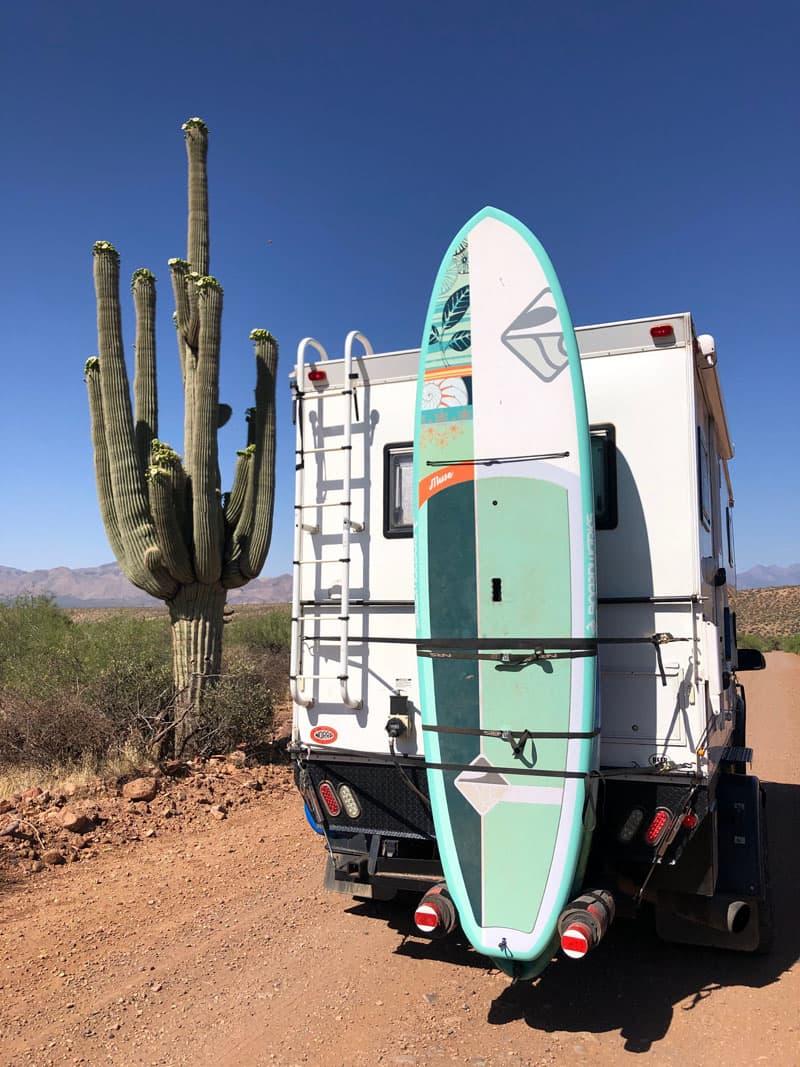 Arizona Backcountry Near Roosevelt Lake