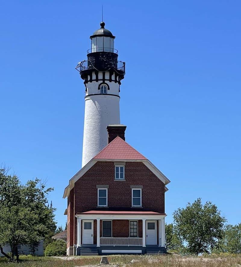 Au Sable Lighthouse Trail Lighthouse