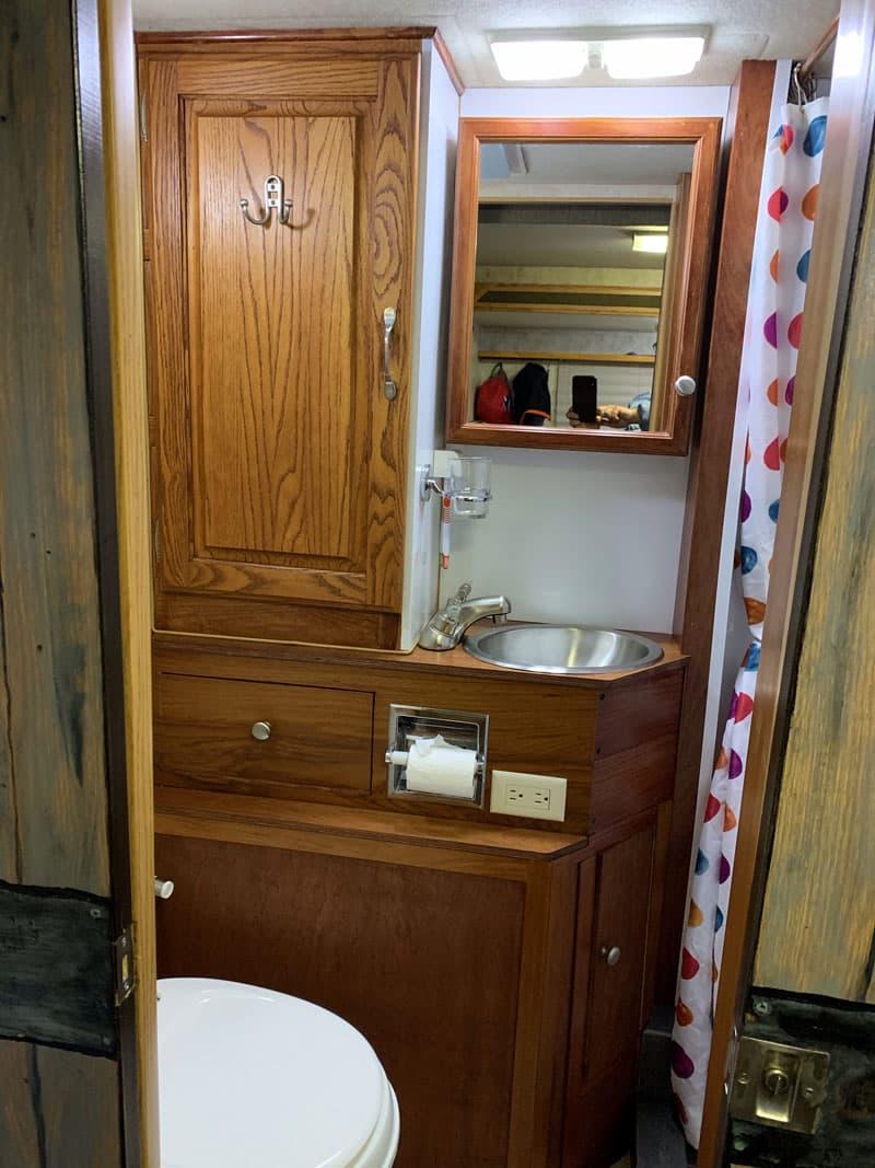 Bathroom Redo Sink Moved Sideways