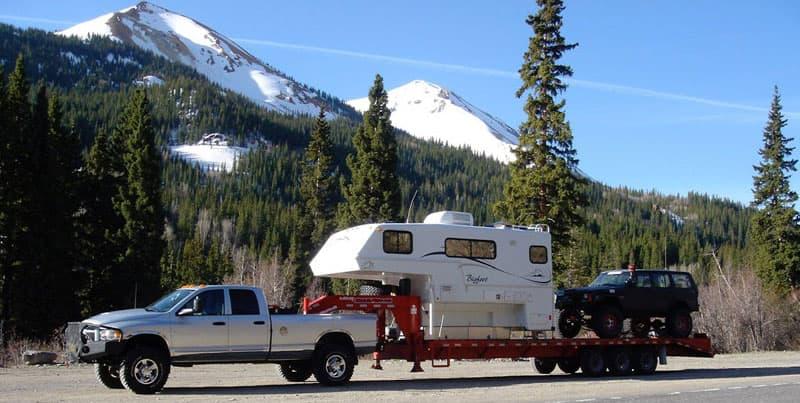 Bigfoot Camper On A Gooseneck